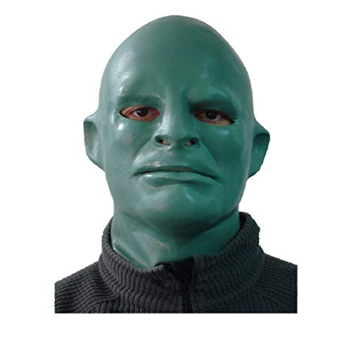 HYTMASK Realistische Party Kleid Deluxe Latex Fantomas Maske für Halloween Party Karneval Verkleidung Requisiten