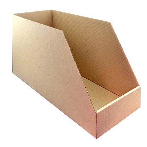 VICMA 36083: opbergdoos van karton, zelfopbouwend, hoge sterkte, 560 x 240 x 300 cm