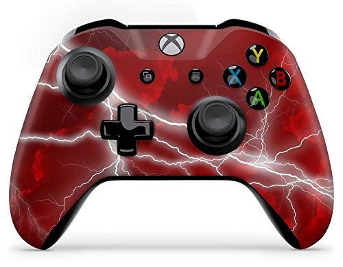 Skins4u Aufkleber Design Schutzfolie Vinyl Skin kompatibel mit Xbox One Controller Apocalypse Red