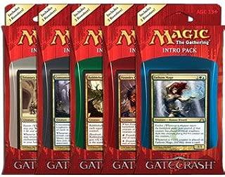 Magic The Gathering (MTG): Gatecrash Intro Pack Set of 5 (Five)