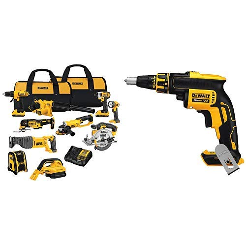 DEWALT DCK1020D2 20V Combo Kit with DCF620B 20-volt MAX XR...