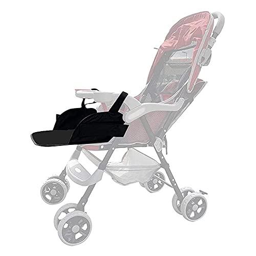Baby Stroller Footrest,3 in 1 Windproof Cold-Proof Detachable Bunting Bags Adjustable Stroller Leg Rest Extension Foot Rest Universal Stroller Annex Mat Footmuff Cover Stroller Bunting Bag,35×30cm