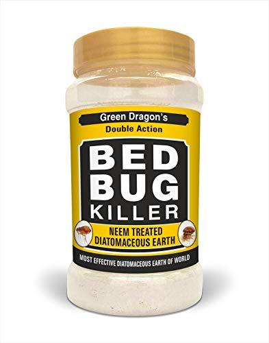Green Dragon's Bed Bug Killer Neem Treated Diatomaceous Earth Powder 700 g (16 oz)