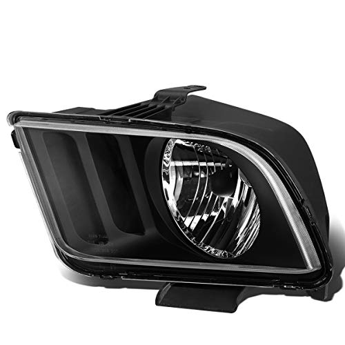 DNA Motoring OEM-HL-0032-L Black Housing Factory Style Driver Side Headlight...