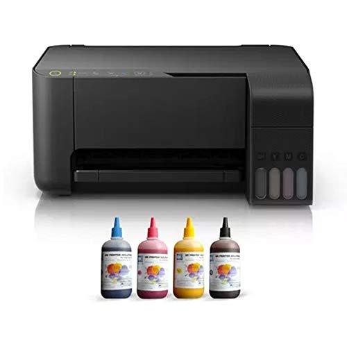 Impresora fotográfica todo en uno, con impresión móvil, escáner de inyección de tinta y fotocopiadora, accesorios de suministros de oficina de aprendizaje, color inalámbrico multifunción compacto