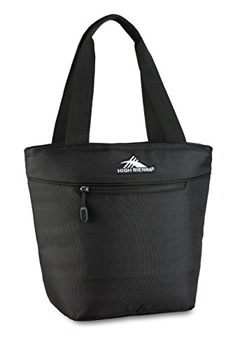 High Sierra Kids' Lunch Tote Bag, Black, One Size