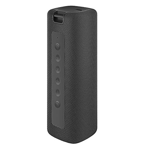 Tragbarer TWS Bluetooth-Lautsprecher hat Stereo-Sound, IPX7 im Freien wasserdicht, 16 W Leistung, Spielzeit kann 13 Stunden dauern, eingebautes Mikrofon Staubdichteffekt (schwarz)