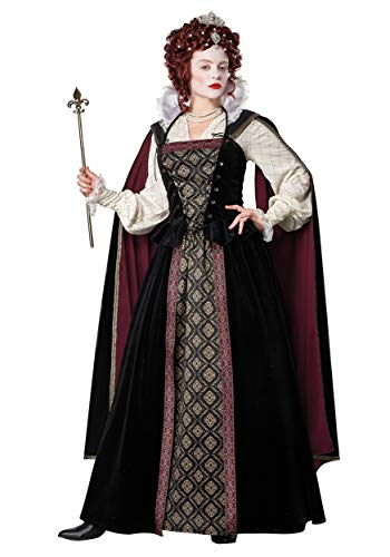 Disfraz de Reina Elizabethan para Mujer - - S