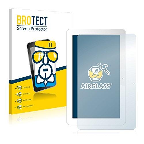 BROTECT Panzerglas Schutzfolie kompatibel mit Odys Space 10 Plus - AirGlass, 9H Festigkeit, Anti-Fingerprint, HD-Clear