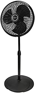 "Lasko 2527 Adjustable Performance Pedestal Fan, 16"", Black"