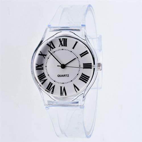 SHOUB Transparente Reloj de Silicona Reloj de Las Mujeres Deporte Relojes de Pulsera de Cuarzo Ocasional Novedad Cristal Relojes de Las Señoras de Dibujos Animados Reloj Mujer