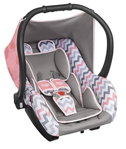 Bebê Conforto Ello até 13 Kg, Tutti Baby, Rosa e Cinza