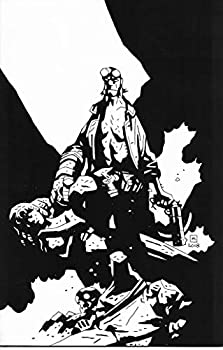Hellboy Seed of Destruction #1 25th Anniversary Black & White Variant Cover Edition Comic Book