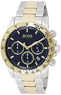 Hugo Boss Herren Chronograph Quartz Uhr mit Edelstahl Armband 1513767 (B07XRHBDW5) | Amazon price tracker / tracking, Amazon price history charts, Amazon price watches, Amazon price drop alerts