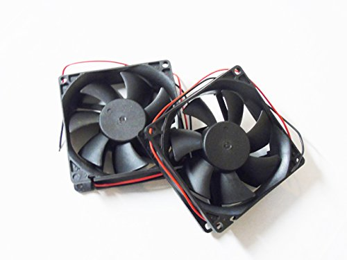 Pair Packed 3 Inch 12VDC 12 Volt Car Truck Cooling Fans