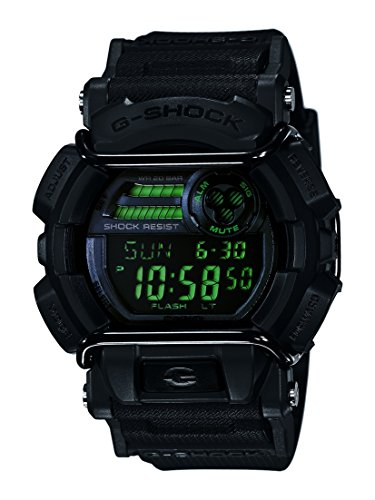 Casio Men's XL Series G-Shock Quartz 200M WR Shock Resistant Resin Color: Matte Black (Model GD-400MB-1CR)