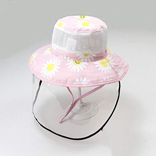 GZCC hoofdbescherming voor pasgeborenen en kinderen, afneembare bescherming voor kinderen, wekker voor lente en zomer, super schattig