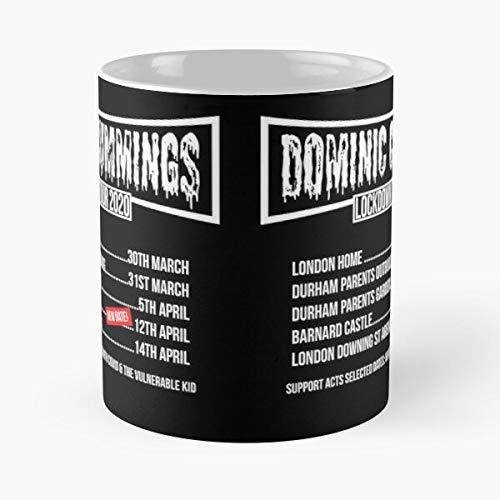 Dominic Cummings Lockdown Tour Classic Mug - Ceramic Coffee White (11 Ounce) Tea Cup Nursing Appreciation Gifts For Nurse Practitioner-