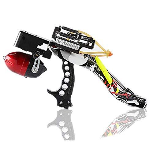 Blue-Ra Fishing Hunting Slingshot Catapult Kit with Infrared Sight&Fishing Reel (Blue-Ra) (Blue-Ra Upgrade)