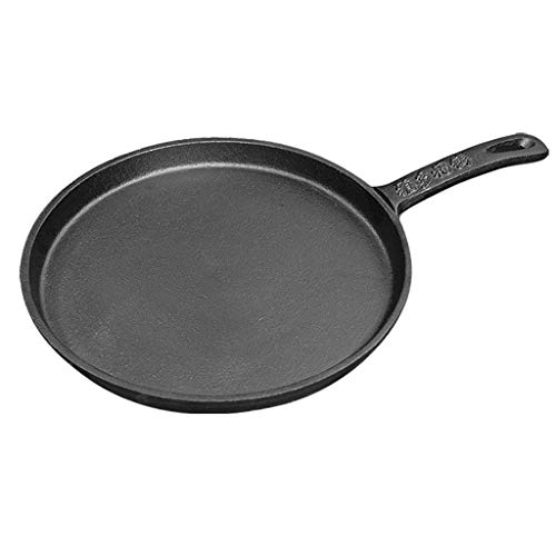 YEESEU 26.5cm Crepe sartén Antiadherente, Deep Tortilla Fried Tortilla panqueques sartén con...