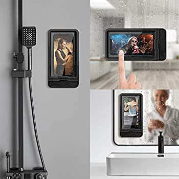Fansteck Wall Mount Phone Holder with Reusable Nano Adhesive Strip