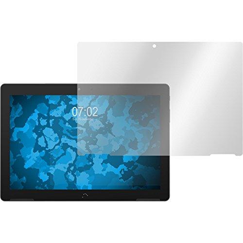 PhoneNatic 8er-Pack Bildschirmschutzfolien klar kompatibel mit BQ Aquaris M10
