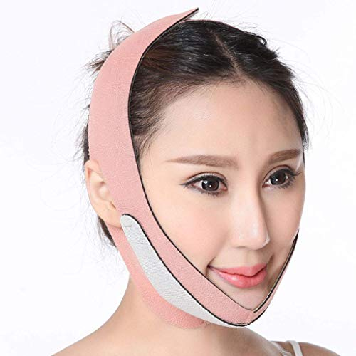 Double Chin Strap Face Slimming Belt Anti Wrinkle Lift V Face Line Face Lifting Slimmer Breathable Chin Lift Band>