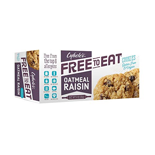 Cybele's Oatmeal Raisin Cookies, 6.6-ounce Boxes (Pack of 6)