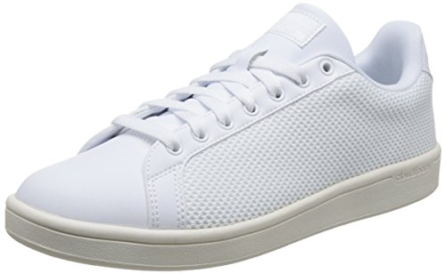 adidas CF Advantage Cl, Zapatillas de Gimnasia Hombre, Blanco (FTWR White/FTWR White/Chalk White FTWR White/FTWR White/Chalk White), 43 1/3 EU