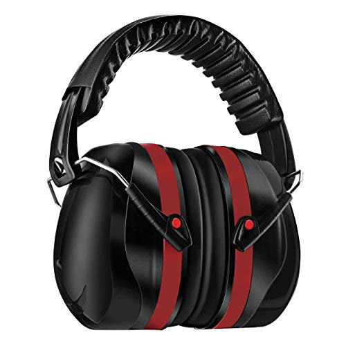 Homitt Sound Ear Muffs Hearing Protection, Noise Reduction...