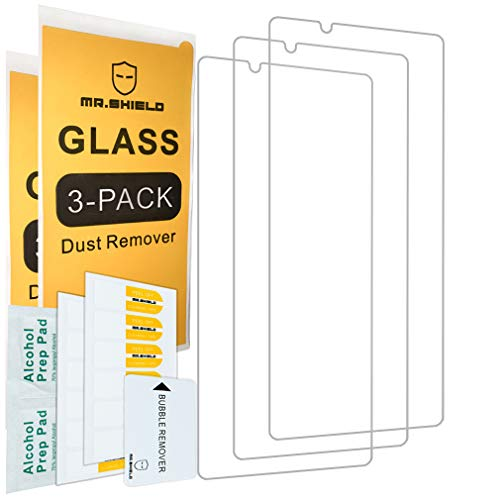 [3-Pack]-Mr.Shield for Sony(Xperia1II) [Tempered Glass] [Japan Glass with 9H Hardness] Screen Protector with Lifetime Replacement