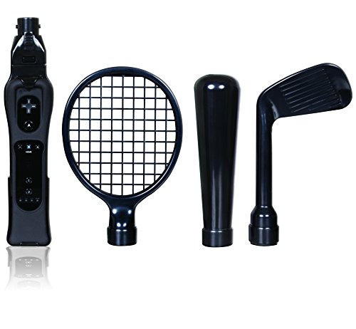 dreamGEAR Nintendo Wii 7-in-1 Player's Sports Kit (black)