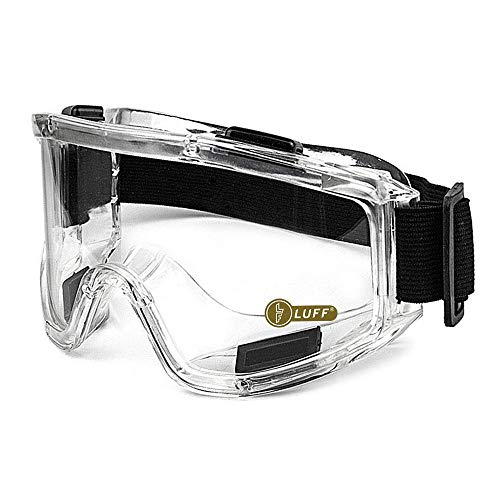 LUFF Protective Safety Glasses Industrial Goggles AntiFog Scratch Resistance AntiChemical Splash Goggles Safety Goggles