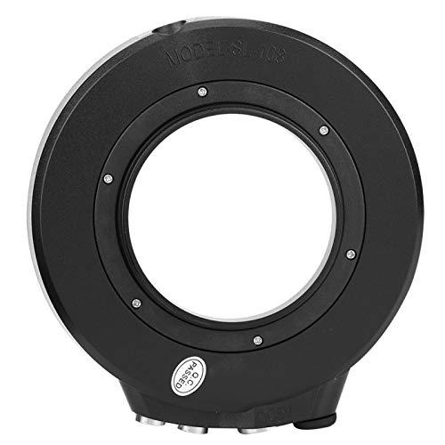ROMACK Carcasa de cámara de Profundidad de 40 m / 130 pies Luz de Flash Luz de Flash subacuática de Alta eficiencia Carcasa de Material Compuesto PC110, para Carcasa de cámara/Carcasa