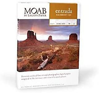 product image for Entrada Rag Bright 190gsm Paper 5 x 7 , 25 Sheets