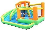 Castillos hinchables Castillo Inflable Familia de Juegos Infantiles Equipo de Juego al Aire Libre Pequeño trampolín Combinación de Diapositivas Inflación (Piscina)