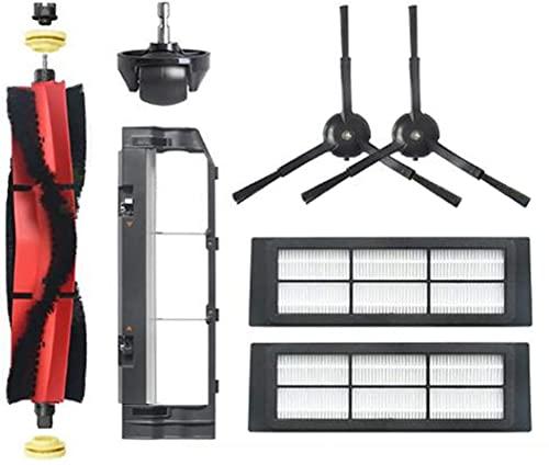 NICERE Recambios para aspiradoras Kit de accesorios Filtros de cepillo para IRobot Roomba 600 601 610 620 630 631 645 650 651 655 660 680 500 585 595 Serie (tamaño : A)