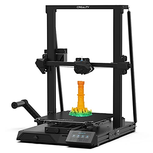 YILUFA Creality Cr-10 Smart 3D Printer,dual Z Axis, Resume Printing,suitable For Beginners,intelligent Automatic Leveling,print Size 11.81'(L) X 11.81'(W) X 15.75'(H),