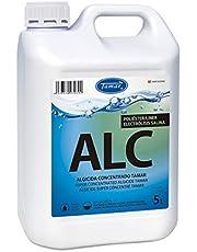 Tamar Algicida Concentrado, Especial Piscinas de Poliester/Liner y Electrólisis Salina, 5 litros.