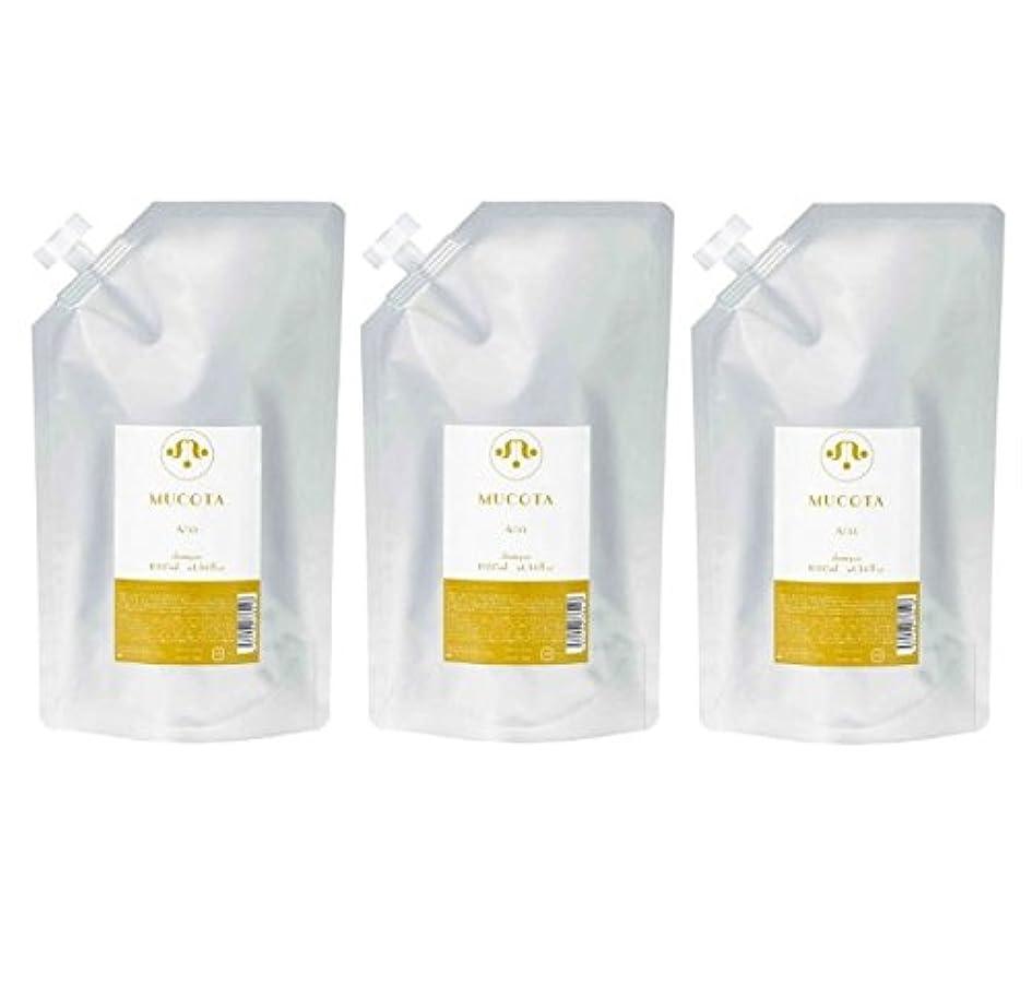 コールドアルバニー店員ムコタ ホームケア シャンプー A/33 1000ml × 3個 セット 詰め替え用 ホイップのような優しい泡 MUCOTA Home Care