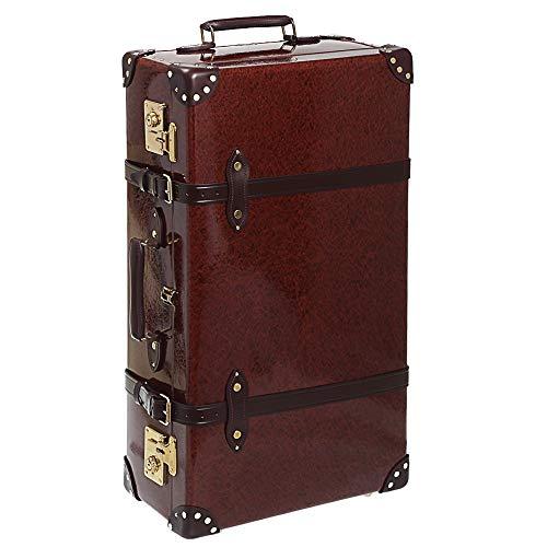 [グローブトロッター] スーツケース GLOBE TROTTER ORIENT30 オリエント 30インチ 78L 2輪 GTHRDUR30ED/URUSHI&BURGUNDY/GTURSUG30ED