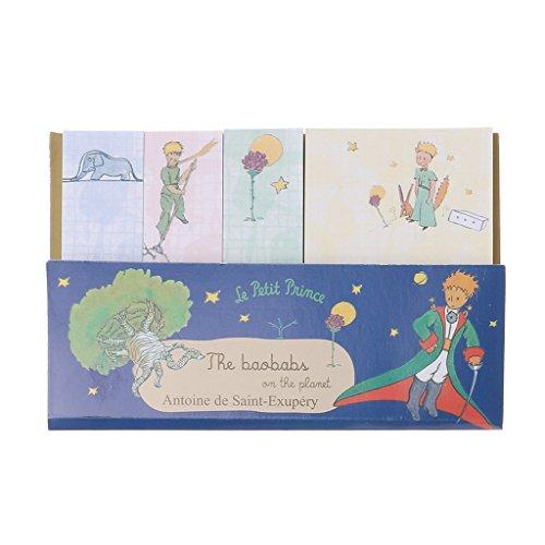 angwang Bloco de notas Creative Little Prince Plano semanal de material escolar de papelaria