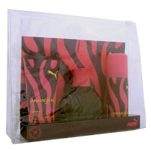 Puma Animagical Woman Giftset EDT Spray 40ml, Shower Gel 50ml und Deodorant 50ml spray, 1er Pack (1 x 140 ml)