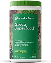 Amazing Grass Green SuperFood Original, 60 Servings, 17 Ounce