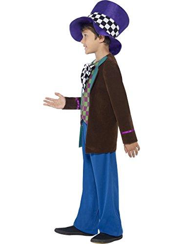 Smiffy's - Disfraz Sombrerero Loco (42842S) , color/modelo surtido