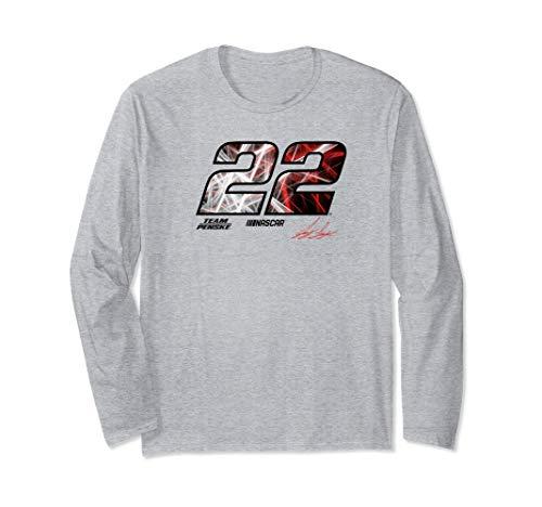 NASCAR - Joey Logano - Laser Long Sleeve T-Shirt