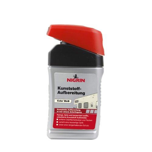 Nigrin 72938 Couleur Préparation en Plastique Blanc 300 ML