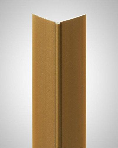 BODENMEISTER Tapeteneckleiste Kunststoffwinkel (Außenwinkel) gold, Länge: 260cm