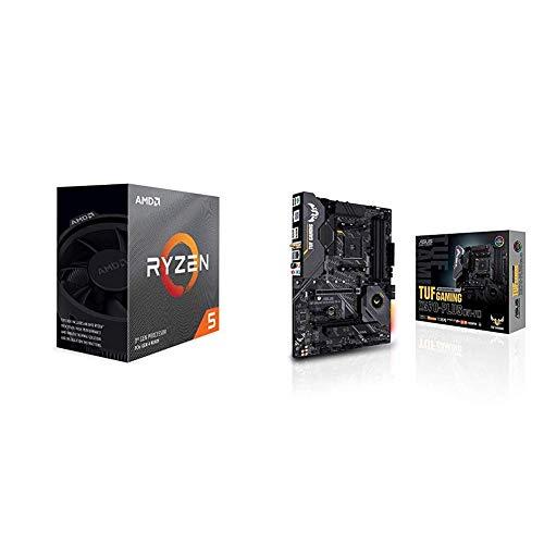 Pack gráfica ASUS y Procesador AMD: Ryzen 5 3600 y TUF Gaming X570-Plus (WI-FI)