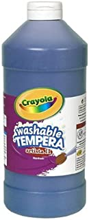Crayola Washable Paint, Blue Paint, Classroom Supplies, 32 Ounce